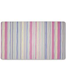 """Laura Ashley Lollies Washed Stripe Anti-Fatigue Gelness 20"""" x 32"""" Kitchen Mat"""