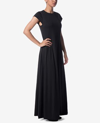 Verona Collection Cap Sleeve Maxi Dress Dresses Women Macy S