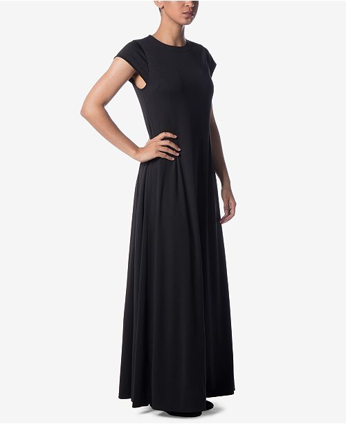 Verona Collection Cap Sleeve Maxi Dress Dresses Women Macy S