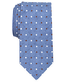 Tallia Men's Seneca Dot Slim Silk Tie