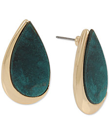 Robert Lee Morris Soho Teardrop Stud Earrings
