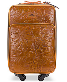 Patricia Nash Deep Embossed Tooled Suitcase