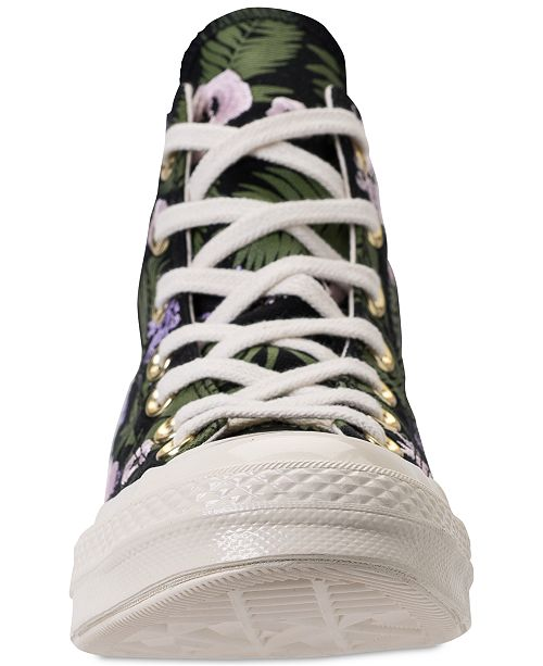 1371353657ce ... Converse Unisex Chuck Taylor All Star 70 Palm Print High Top Casual  Sneakers from Finish Line ...