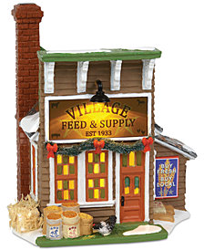 Department 56 Villages Village Feed & Supply