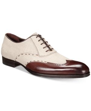 7de870bbf0 Mezlan Men S Balmoral Oxfords Men S Shoes In Brown  Taupe