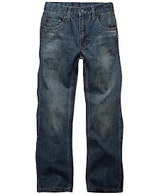 Levi's® 505™  Regular Fit Jeans, Big Boys Husky