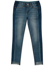 Calvin Klein Big Girls Side Stripe Skinny Jeans