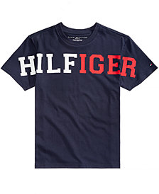 Tommy Hilfiger Big Boys Eden Graphic-Print Shirt