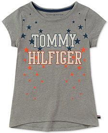 Tommy Hilfiger Big Girls Star Logo T-Shirt