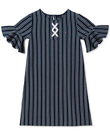 Tommy Hilfiger Big Girls Lace Up Dress