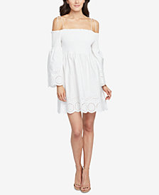 RACHEL Rachel Roy Cotton Off-The-Shoulder Dress, Created for Macy's