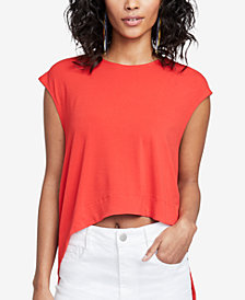 RACHEL Rachel Roy Asymmetrical Crop Top, Created for Macy's