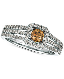 Le Vian® Diamond Ring (3/4 ct. t.w.) in 14k White Gold, Rose Gold or Yellow Gold.