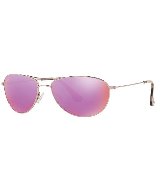 Maui Jim Sunglasses, 245 BABY BEACH 56