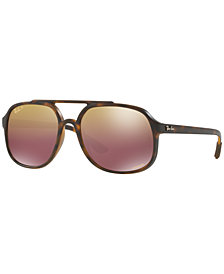 Ray-Ban Polarized Sunglasses, RB4312 CHROMANCE