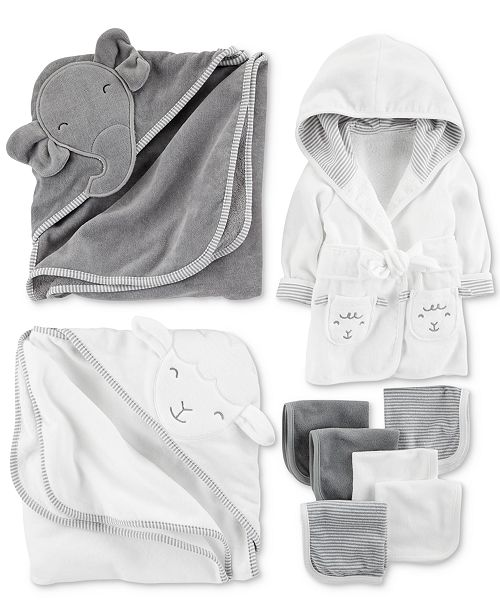Carter\'s Baby Boys Elephant Bath Time Separates - Sets & Outfits ...