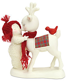 Department 56 Snowbabies Reindeer Kisses Figurine