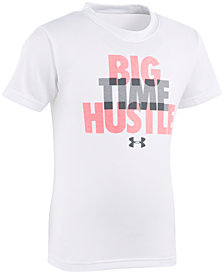 Under Armour Little Boys Hustle-Print T-Shirt