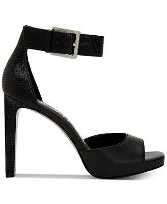 Calvin Klein Women's Marinda Platform Sandals Women's Shoes