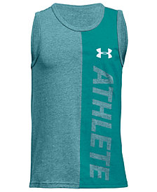Under Armour Big Boys UA Athlete-Print Tank Top