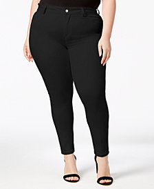 Calvin Klein Plus Size Straight Leg Career Pants