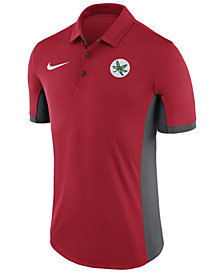 Nike Men's Ohio State Buckeyes Alternate Logo Evergreen Polo
