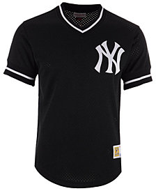 Mitchell & Ness Men's New York Yankees Mesh V-Neck Jersey