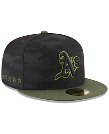 New Era Oakland Athletics Memorial Day 59FIFTY FITTED Cap