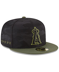 New Era Los Angeles Angels Memorial Day 59FIFTY FITTED Cap