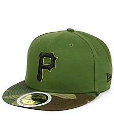 Boys' Pittsburgh Pirates Authentic Collection 59FIFTY FITTED Cap