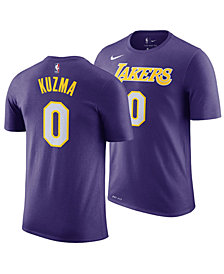 Nike Men's Kyle Kuzma Los Angeles Lakers Statement Player T-shirt