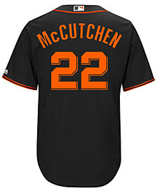 Majestic Andrew McCutchen San Francisco Giants Player Replica Cool Base Jersey, Big Boys (8-20)
