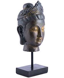 Buddha In Pedestal Bronze