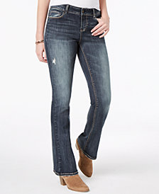 Vanilla Star Juniors' Ripped Bootcut Jeans