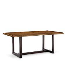 Everly Faux Live Edge Table, Created for Macy's