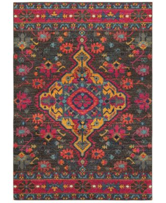 "CLOSEOUT!  Archive Ives 3'10"" x  5' 5"" Area Rug"
