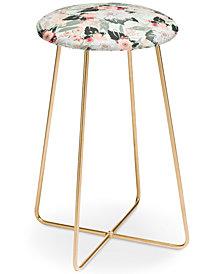 Deny Designs Iveta Abolina Carmella Creme Counter Stool