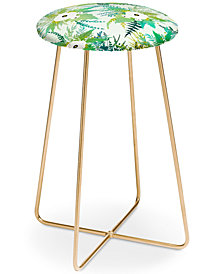 Deny Designs Iveta Abolina Lula Garden Counter Stool