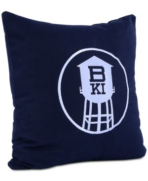 "Berkshire Brooklyn Industries Embroidered 18"" Square Decorative Pillow 6397050"