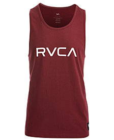 RVCA Men's Big Logo-Print Mesh Tank
