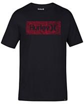 deda1e9e720e Hurley Men's One And Only Box Logo T-Shirt
