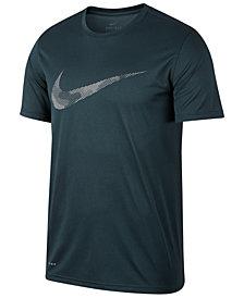Nike Men's Dry Legend Print-Logo T-Shirt