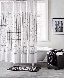 DKNY Geometrix Cotton Bath Collection