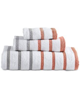Parsons Cotton Stripe Bath Towel