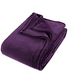 purple blankets and throws macy s