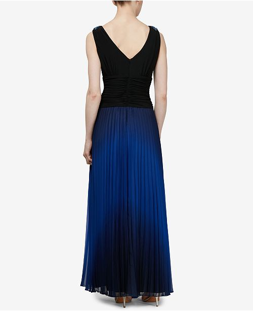 SL Fashions Ombré Pleated Gown   Reviews - Dresses - Women - Macy s 686ed2aac