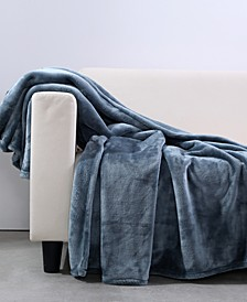 "VelvetLoft Heavyweight 50"" x 60"" Plush Throw"