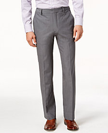 Kenneth Cole Men's Stretch Twill Dress Pants