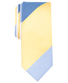 Original Penguin Men's Mile Stripe Skinny Tie