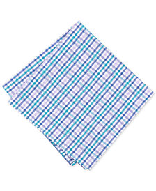 Bar III Men's Multi-Dobby Gingham Pocket Square, Created for Macy's